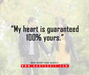 Best Short Love Quotes for her10