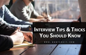 Interview Tips And Tricks You Should Know