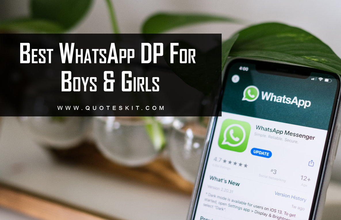Best Whatsapp DP For Boys and Girls