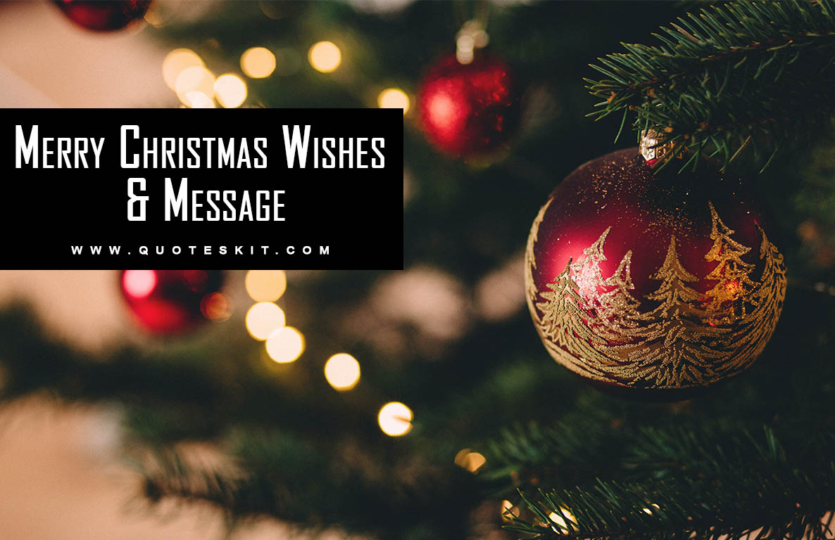 100+ Best Merry Christmas Wishes And Message 2020