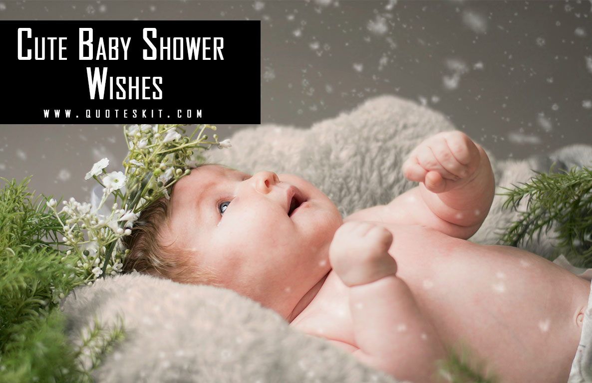 500+ Best Cute Baby Shower Wishes and Messages